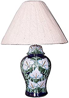 Amazon.com: Multicolor Talavera Ceramic Lamp: Home & Kitchen