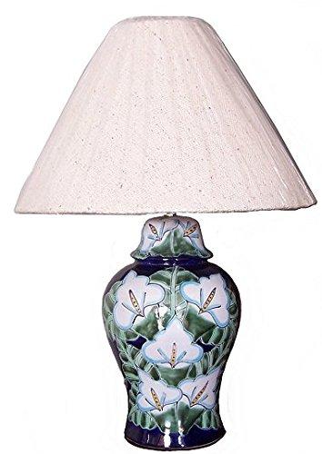 Fine Crafts Imports Lily Talavera Ceramic Lamp (Lamps Talavera)