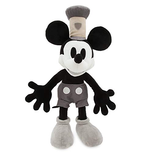 Disney Mickey Mouse Plush - Steamboat Willie - Medium Multi