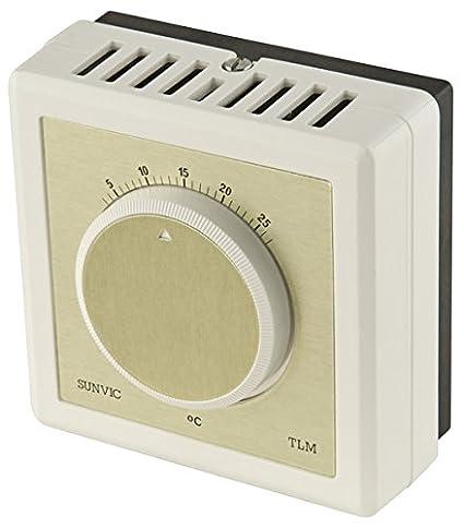 Sunvic; TLX 2253; Termostato ambiente para calefacción 20 Amp.