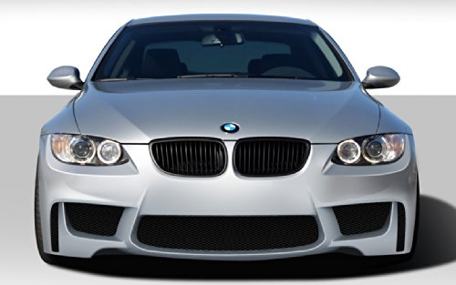 Extreme Dimensions Duraflex Replacement for 2007-2010 BMW 3 Series E92 2dr E93 Convertible 1M Look Front Bumper Cover - 1 Piece