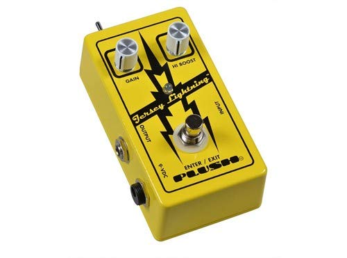 Plush by Fuchs Audio Jersey Lightning Gain Boost and EQ Guitar Effects Pedal