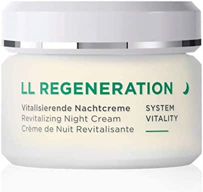 ANNEMARIE BÖRLIND – LL REGENERATION Revitalizing Night Cream – Sustainably Sourced Natural Anti-Aging Face Moisturizer for a Visibly Firmer and Revitalized Skin – Step 4 of 5 – 1.69 oz.