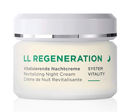 ANNEMARIE BÖRLIND – LL REGENERATION Revitalizing Night Cream – Natural Anti Aging Vitamin C, E and Retinoid Face Cream…