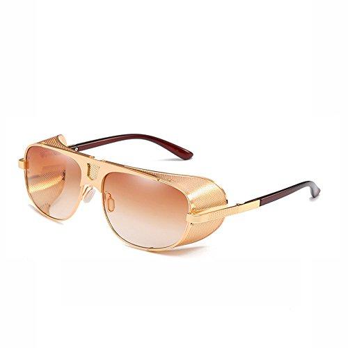 pour miroir polarisées de de Voyager de plein Sports pilote vent couleur soleil yellow air réfléchissant de de lunettes bord grenouille polarisé adapté épais voler pilote Lunettes film OfqpEwHxO