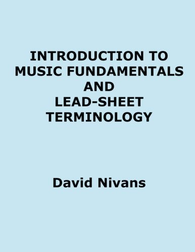 Introduction To Music Fundamentals And Lead-Sheet Terminology ...