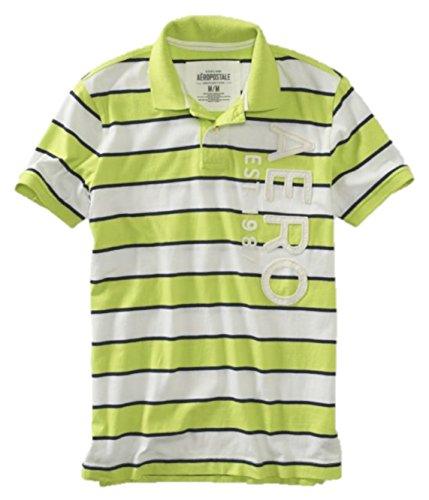 Aeropostale Mens Striped Graphic Shirt