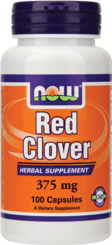 Red Clover 375mg Now Foods 100 Caps (375 Mg 100 Capsules)