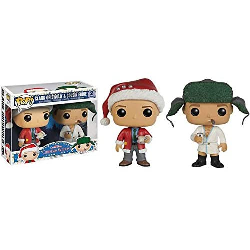 Funko Pop Vacation Clark Griswold and Cousin Eddie National Lampoon's FYE Exclusive Vinyl Figures