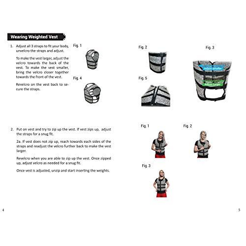 Mir Super Slim AIR Flow Adjustable Weighted Vest Machine Washable. for Men & Women (Black - 16LBS) by Mir (Image #4)