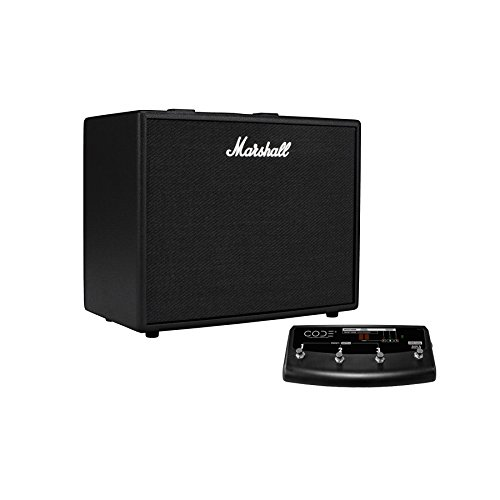 Marshall Code 50 50W 1x12 Programmable Guitar Combo w Footcontroller by Marshall