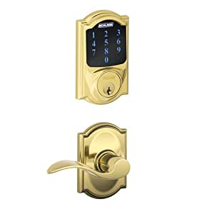 Schlage Connect Camelot Touchscreen Deadbolt With Built In
