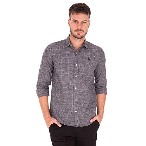 Camisa Flanela Gabriel - Cinza Mescla - Tamanho G