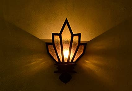 Il subappalto legno muro retrò lampade muro decorativo lampada