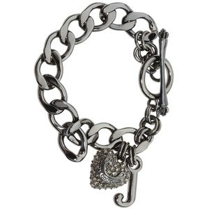 Juicy Couture B Pave STRTR Bracelet Hematite - Juicy Pave