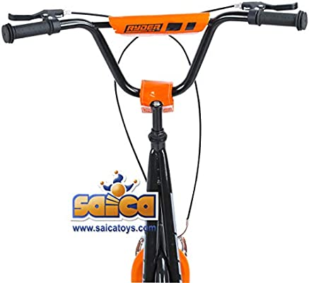 Saica Patinete-Bici Ryder Pro Naranja, Color Negro (1 ...
