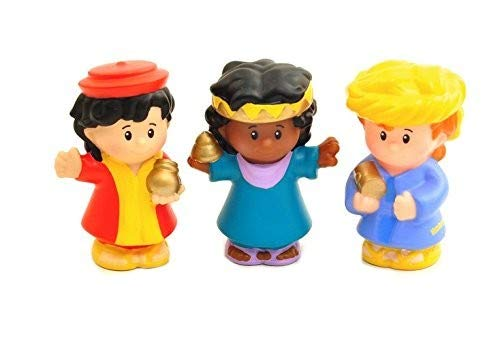 Fisher Price Little People Nativity Manger Replacement Three (3) Wise Man with ()