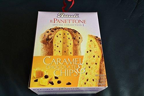 Panettone Caramelo Chocolate Chips Bauli 500 G: Amazon.es: Alimentación y bebidas