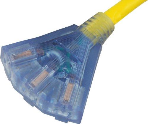 Conntek 1 5 Feet 30 Amp Tri Outlet Cord 30 Amp Locking L5