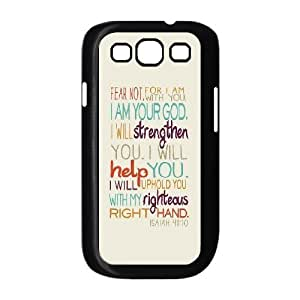 wugdiy Customized Hard Back Case Cover for Samsung Galaxy S3 I9300 with Unique Design One Direction Quotes