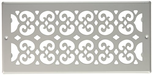 Decor Grates S614R-WH 6-Inch by 14-Inch Painted Return Air, White ()