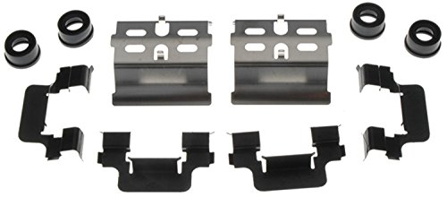 ACDelco 18K980X Professional Front Disc Brake Caliper Hardware Kit with Clips and Bushings ()