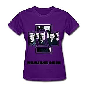 Amazon com tike women s rammstein 2 logo shirt clothing
