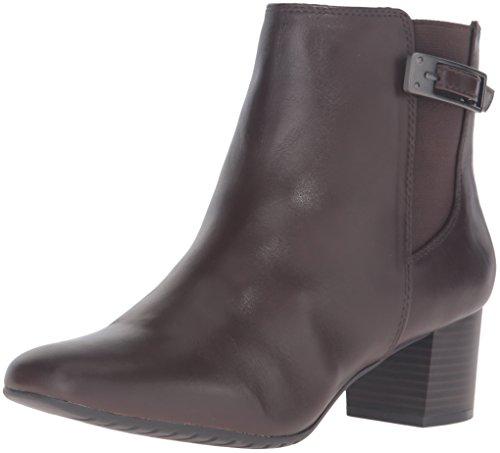 Bandolino Women's Lethia Boot, Dark Brown, 6 M ()