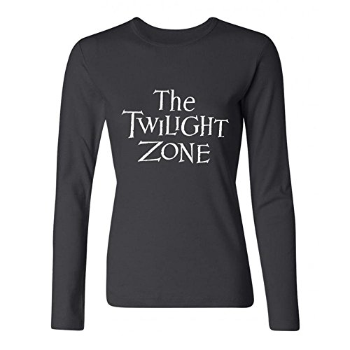 (Women's The Twilight Zone TV Series Logo Long Sleeve T-Shirt)