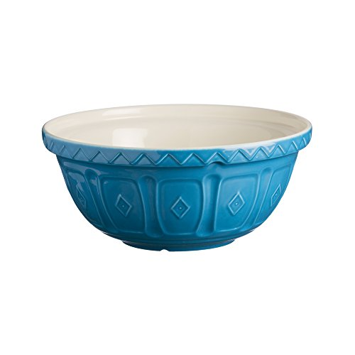 Mason Cash Earthenware Mixing Bowl, S12, 11-1/2-Inches, 4-1/4-Quarts, Azure by Mason Cash
