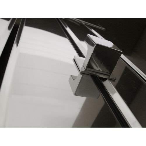 Amba AQ-BHP Quadro Single Hook Robe Hanger,Polished by Amba (Image #1)