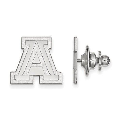 FB Jewels Sterling Silver LogoArt University of Arizona Lapel Pin ()