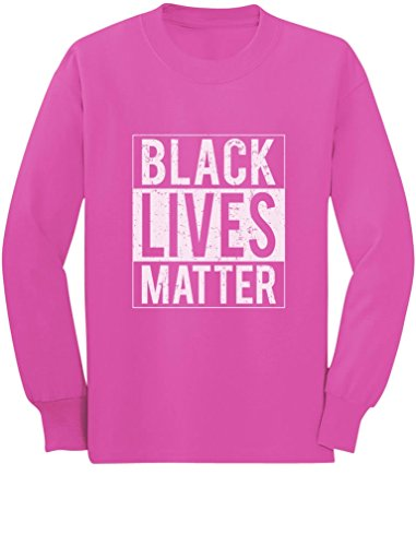 Black Lives Matter Civil Rights Freedom Justice Toddler/Kids Long Sleeve T-Shirt 3T Pink
