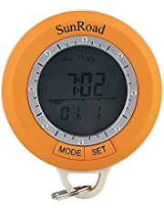 Generico Sunroad SR108S Hiking Computer - 6 In 1 Digital Pedometer, Compass, Altimeter, Barometer, Thermometer, Weather Forecast