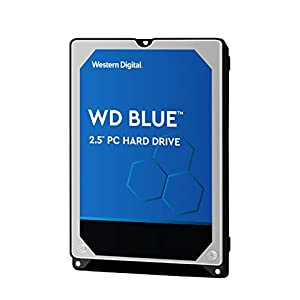 "WD Blue 1TB Mobile Hard Drive - 5400 RPM Class, SATA 6 Gb/s, 128 MB Cache, 2.5"" - WD10SPZX 41NnF GoItL. SS300"
