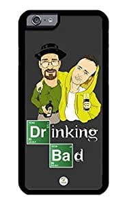 iZERCASE iPhone 6 PLUS Case Breaking Bad Inspired Drinking Bad Pattern RUBBER CASE - Fits iPhone 6 PLUS T-Mobile, Verizon, AT&T, Sprint and International