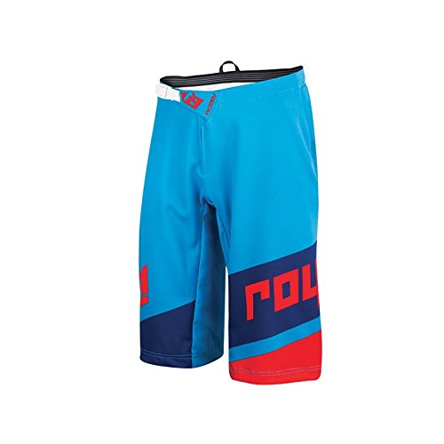 Royal Racing Victory Race Shorts, Cyan/Navy/Red, Small