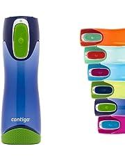 Contigo Swish Autoseal Drinkfles, grote BPA-vrije kunststof waterfles, lekvrij, voor sport, fietsen, joggen, wandelen, 500 ml