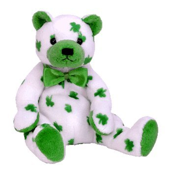 7c9d66407db Amazon.com  Ty Beanie Babies Clover - St. Patrick s Day Bear  Toys ...