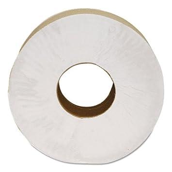"Morcon Paper Morsoft Millennium Jumbo Bath Tissue, 2-Ply, White, 9"""