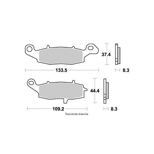 Kyoto - Plaquettes de frein (Avant) KAWASAKI VN 800 CLASSIC 1996-2001