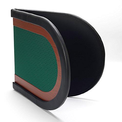 Poker-Tisch sitzen, grün - 10 90 x 200 cm mit wasserabweisendem speed