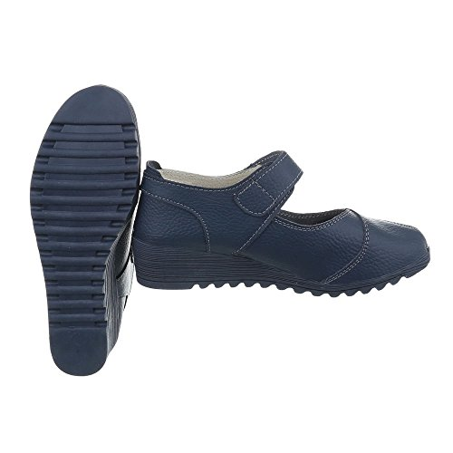 Design Azul Zapatos as 8011 de Ital Plataforma Zapatos para Cu tacon mujer SxwvzFv