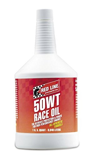 Red Line 50WT Race Oil - Quart (Case 12 Bottles) by Red Line Oil