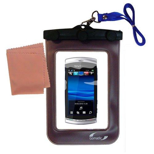 Underwater Case for the Sony Ericsson Vivaz – 天気、安全に保護防水ケースagainst the elements   B0049KTI3C