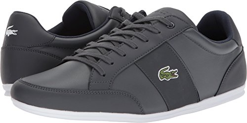 Lacoste Mens Nivolor 118 1 P Dark Gray/Navy/Grey view best place to buy online enjoy shopping buy cheap extremely RQsJSL