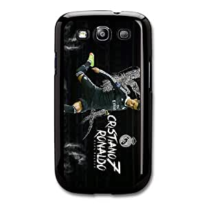 Real Madrid Black M8T8UL6M Caso funda Samsung Galaxy S3 Caso funda Negro