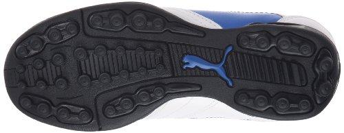 Puma - Zapatillas de deportivo infantil, tamaño 32 UK, color blau Weiss (white-puma royal-team gold 01) (Weiss (white-puma royal-team gold 01))