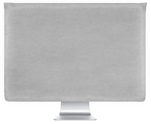 Lavolta Dust Cover for Apple iMac 27-inch - Screen Monitor Protector Guard for iMac 27'' Retina 5K and previous 27'' models & 27'' Thunderbolt Display - with Pocket for iMac Accessories by Lavolta (Image #4)