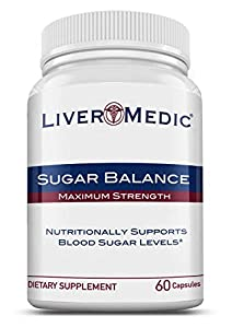 Sugar Balance - Blood Sugar Supplement for Everyday Use, All Natural Vegan Formula | Preferred by Naturopathic Physicians